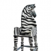 Zebra High Chair