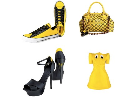 selfridges yellow