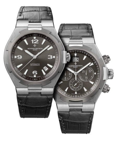 vacheron constantin overseas gray watch