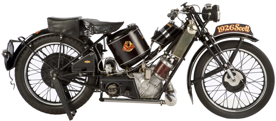 The Von Dutch 1929 Scott 596cc Super Squirrel