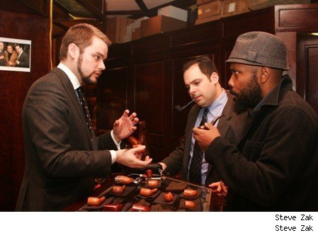 Pipe smokers focus on the craft