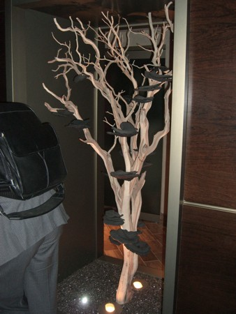 A decorative tree
