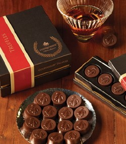 courvoisier truffles