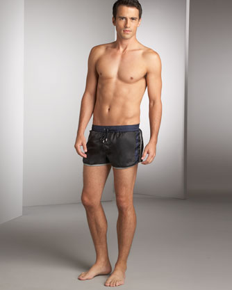 Dolce &amp; Gabbana Trimmed Trunks