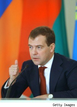 Russian President Dmitry Medvedev's Fancy Watch