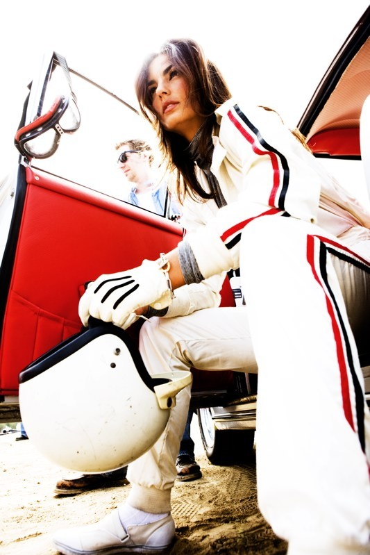 Jessiqa As A Race Car Driver
