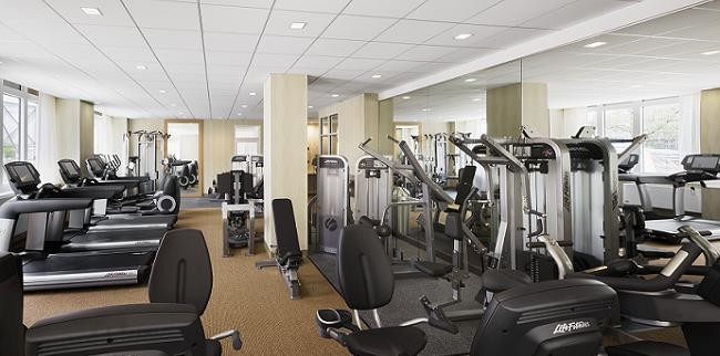 Riverwalk Court fitness room