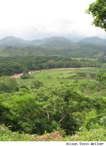 honduras valley view