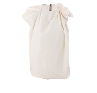 LANVIN - Asymmetric top with knot