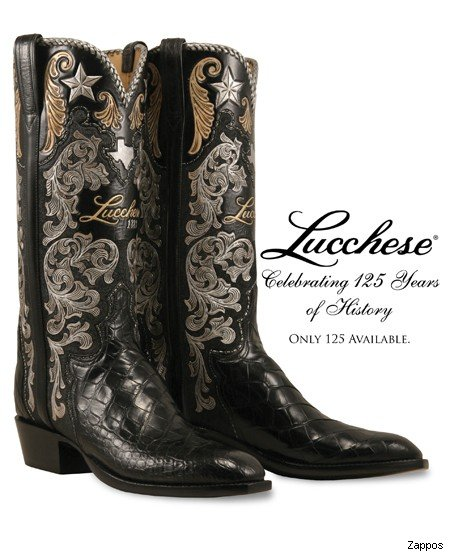 Lucchese 125th Anniversary Limited Edition Boots