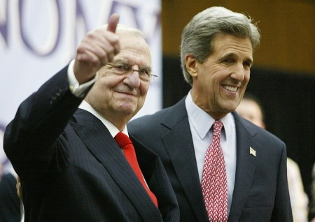 Iacocca and John Kerry