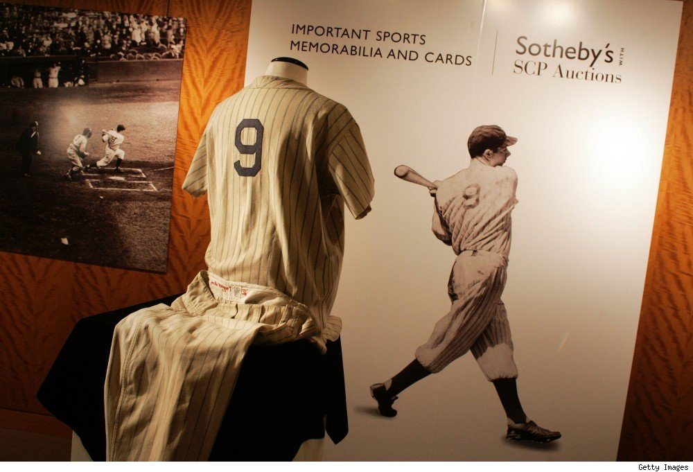 Joe DiMaggio's rookie New York Yankees uniform