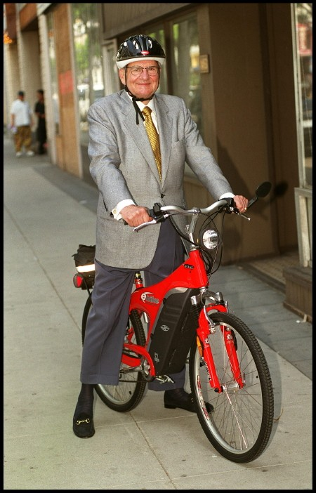 Lee Iacocca and the electric bicycle
