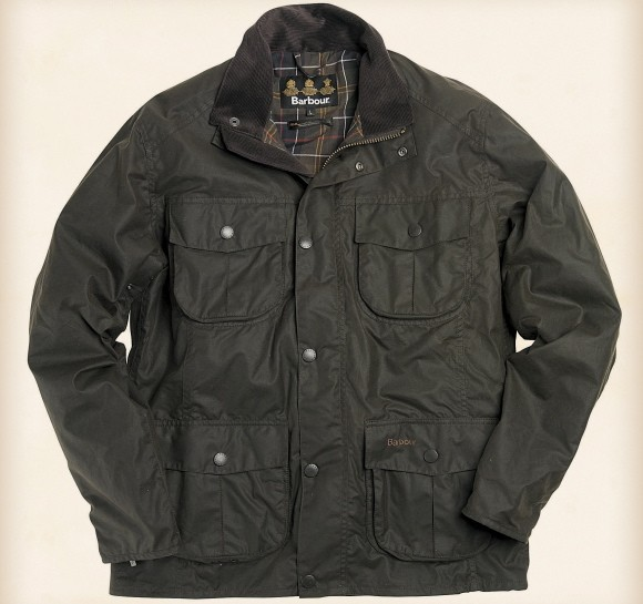 barbour waxed cotton jackets