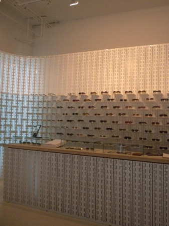 Mykita's Lovely Glasses Display
