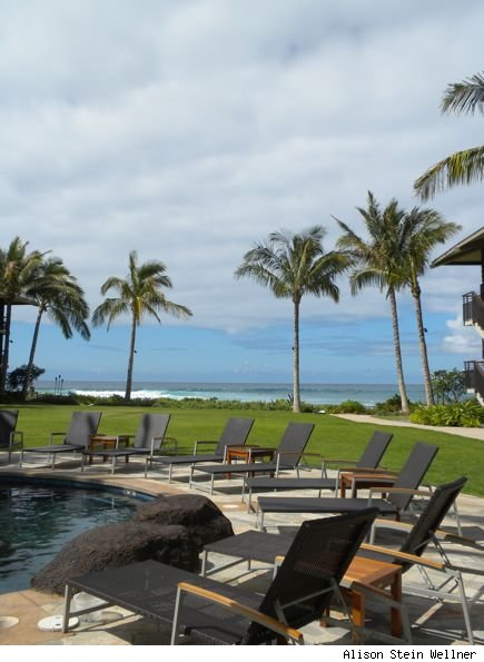 Koa Kea Poolside Towards Beach