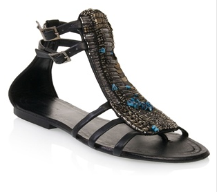 Antik Batik - Bead-embellished Gladiators