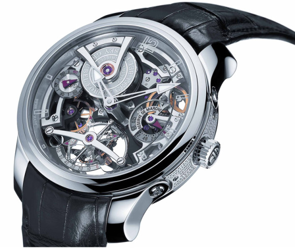 Greubel Forsey double tourbillon technique watch