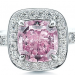 Fancy Deep Pink Diamond Ring