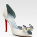 Carnaval Nodo Satin d'Orsay Pumps