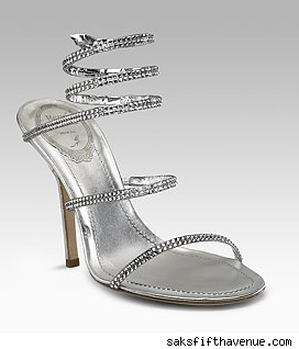 Crystal Snake Sandals
