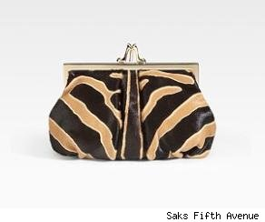 Christian Louboutin Loubiday Framed Pony Clutch