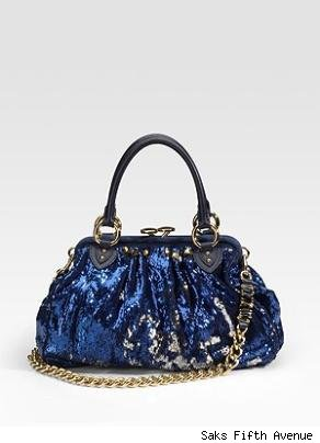 Marc Jacobs Sequined New York Rocker Stam Bag