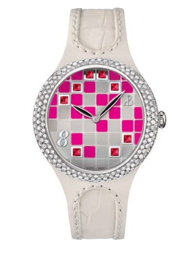Bertolucci Serena Garbo Lady Animation Mosaico Watch