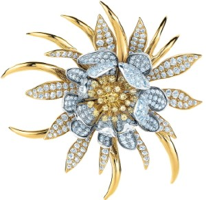 cereus flower brooch