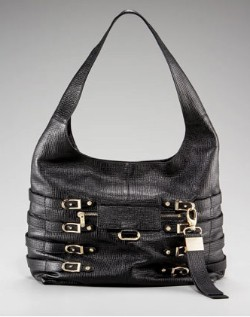 Jimmy Choo Bardia Buckled Hobo