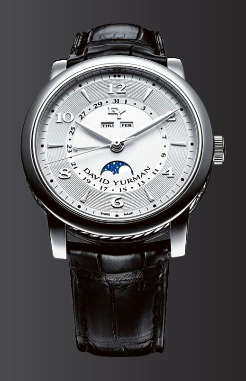 David Yurman Classic Moon Phase Watch