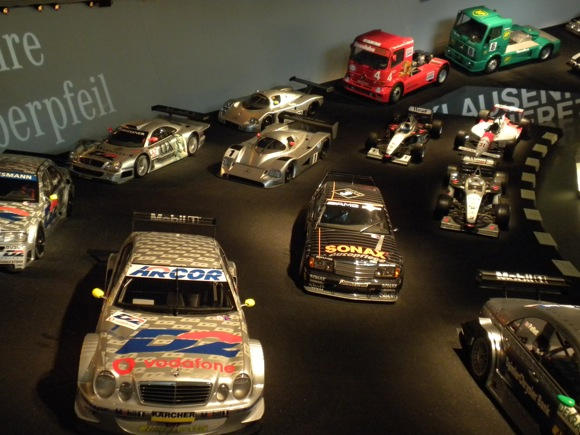 Mercedes Benz Museum: Race Cars 