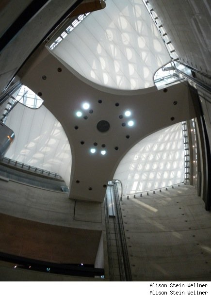 Mercedes-Benz Museum: What Does the Ceiling Design Remind You Of?