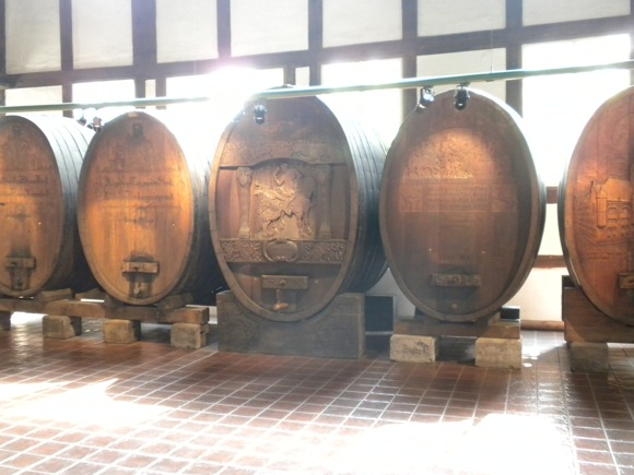 Stuttgart Viniculture Museum: Wine Barrel Exhibit