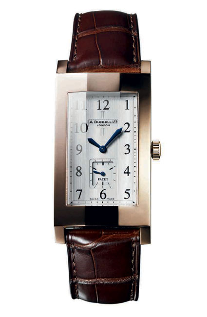 Alfred Dunhill Facet Watch With Jaeger-LeCoultre Movement