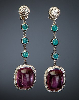 Dov Padeh Tourmaline Earrings