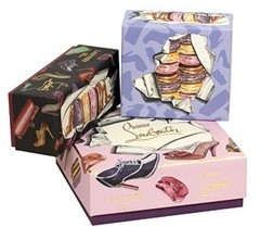 louboutin laduree boxes