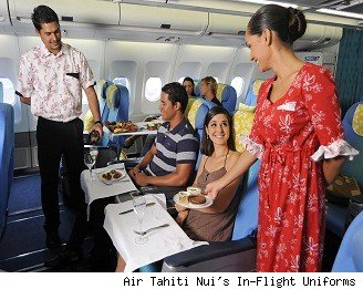 Picture of Air Tahiti Nui's New Crew Uniforms