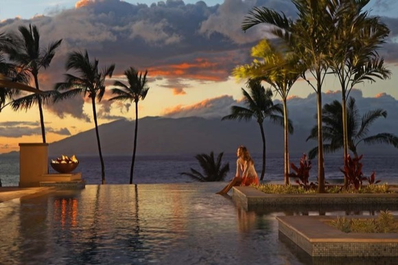 New Serenity Pool at Maui Four Seasons