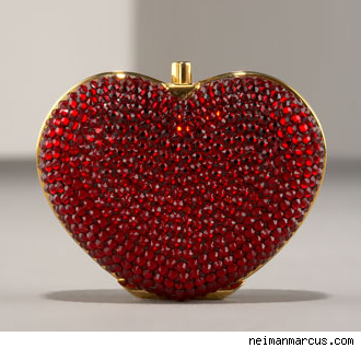 Heart Pillbox by Judith Leiber