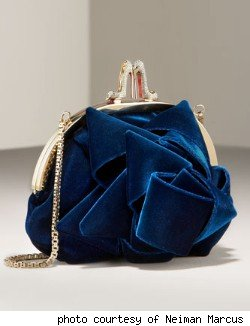 Christian Louboutin Cadeau Bow Kiss-Lock Clutch