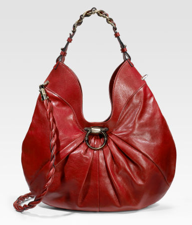 Leather Hobo Bag. leather handbag