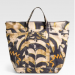 Emilio Pucci Large Printed Canvas Tote