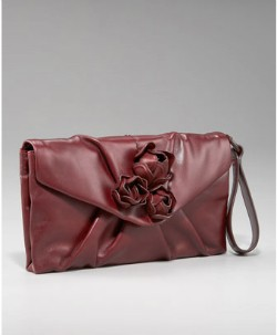 Salvatore Ferragamo Lacon Nappa Clutch