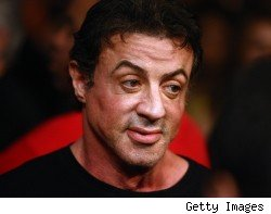 Sylvester Stallone and Planet Hollywood