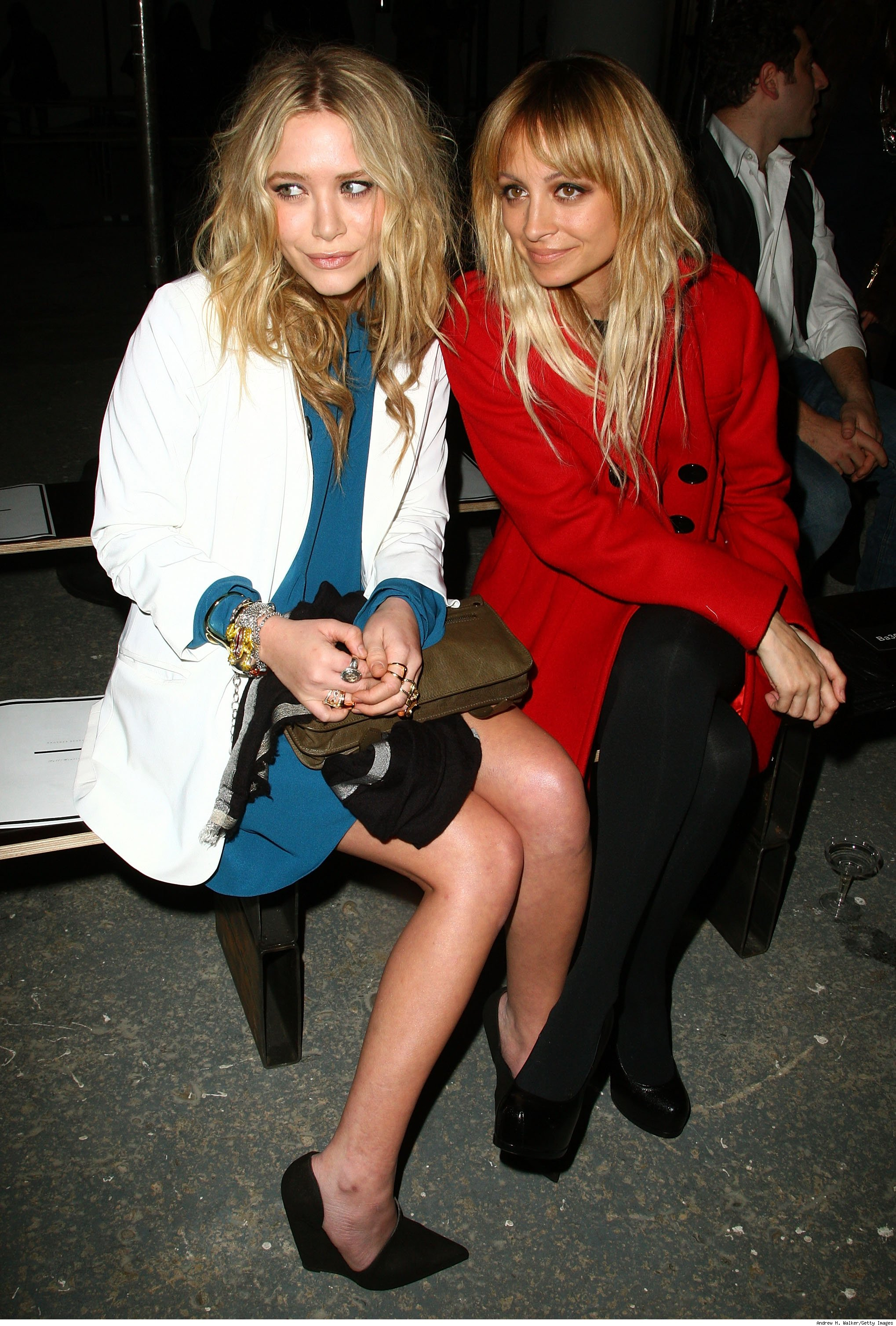 Mary Kate Olsen and Nicole Richie