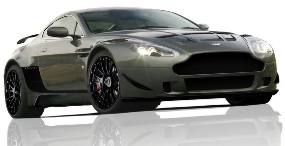 Aston Martin Vantage White. When Aston Martin turned its