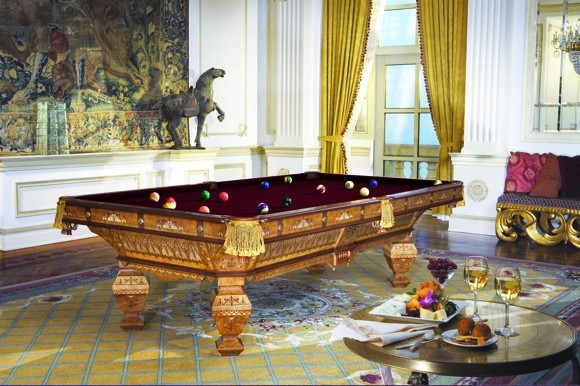 Brunswick Billiards' Replica 1878 Table