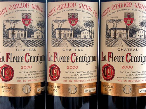 A good vintage Bordeaux St Emilion from France or Brunello from Italy