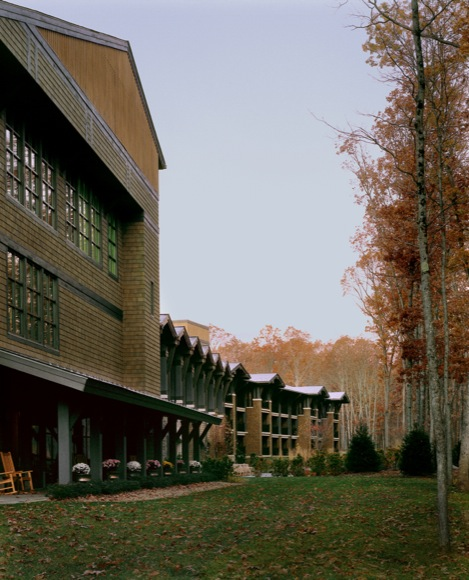 Lodge at Woodloch Exterior